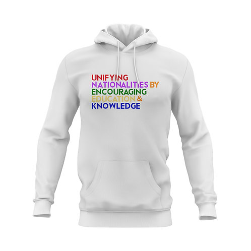COLORS UNITED MESSAGE HOOD