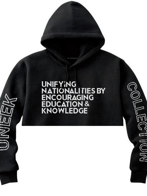 Bold Vision Message Crop Hood