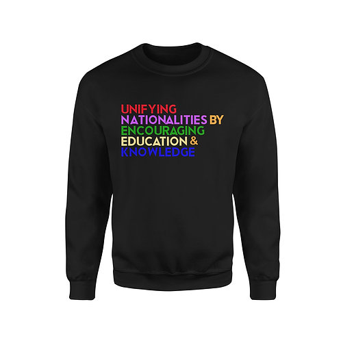 United Colors message Sweatshirt