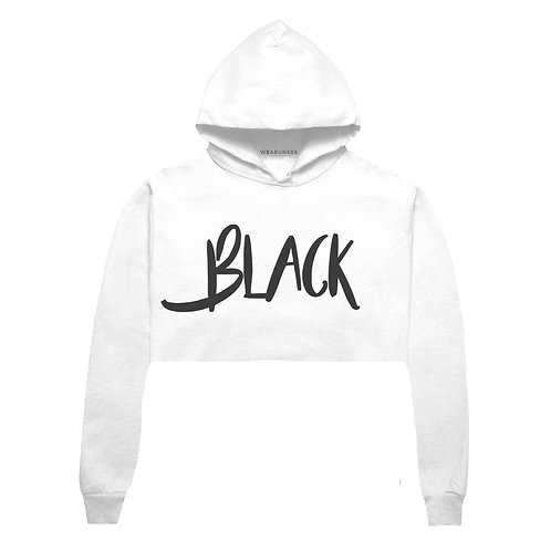 Colorless Black Crop