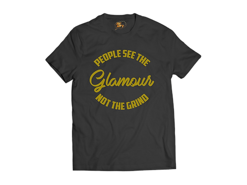 GLAMOUR/ GRIND TEE