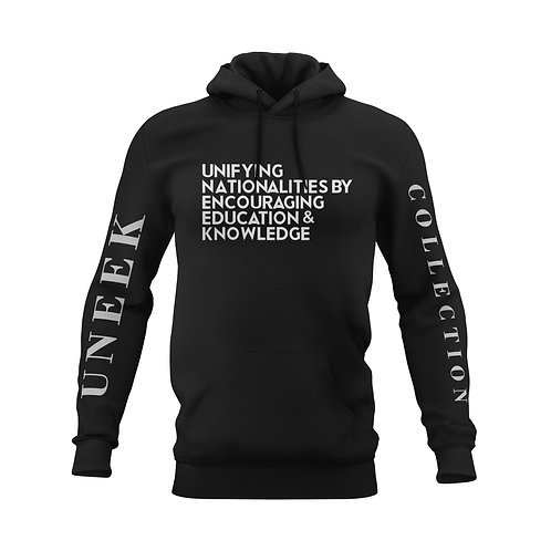 Bold Vision Message Hoodie