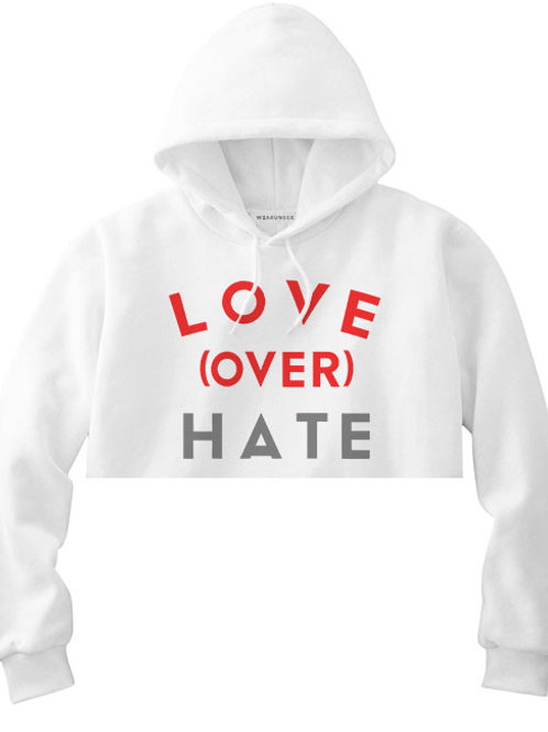 Love OVER Hate crop