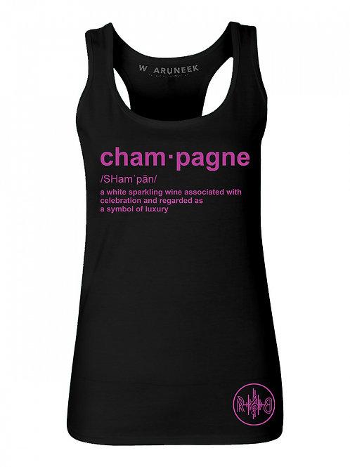 Champagne Tank ( ladies)