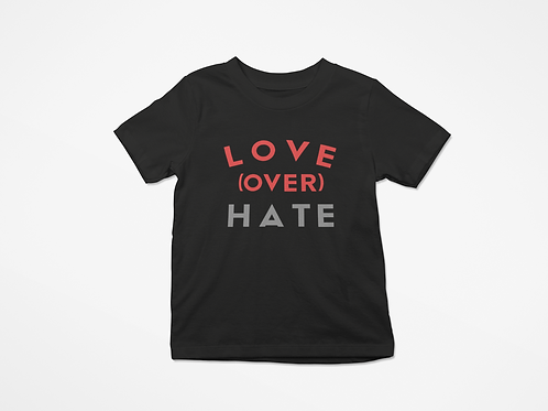 Kids Love over Hate tee