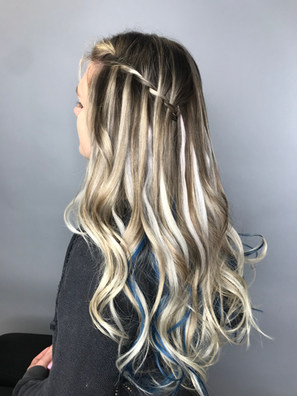Balayage with Extensions