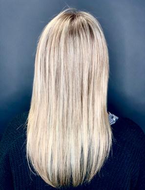 Blonde Highlight & Blonde Keratin Treatment