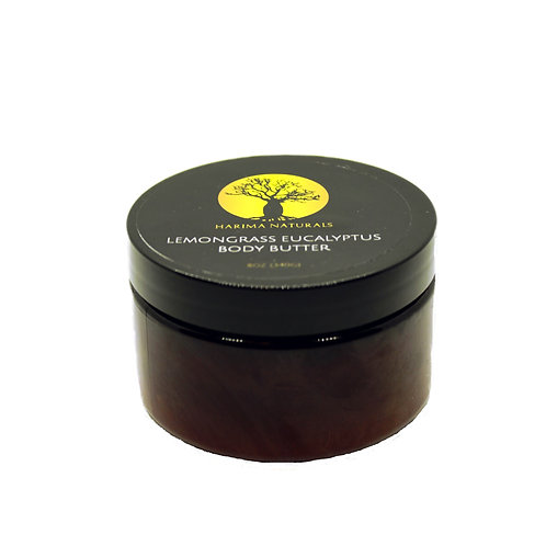 4oz. Lemongrass Eucalyptus Whipped Body Butter