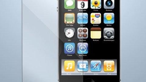 Verre trempé pour iPhone 4/4S