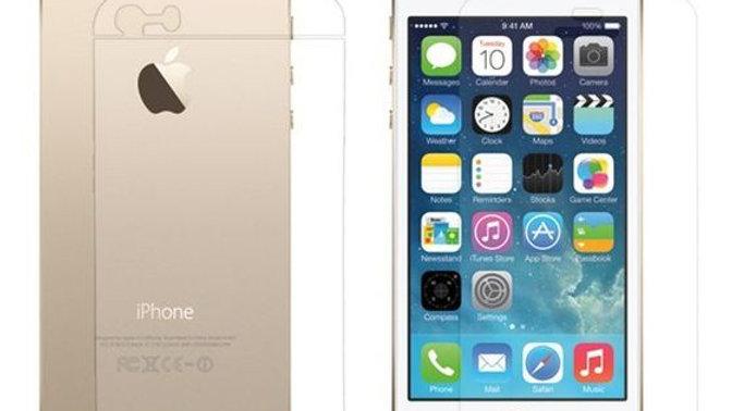 Verre trempé pour iPhone 5/5C/5S/5SE
