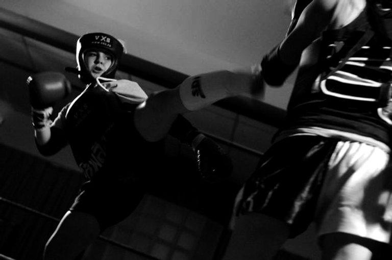 Compétitrice boxe thaïlandaise