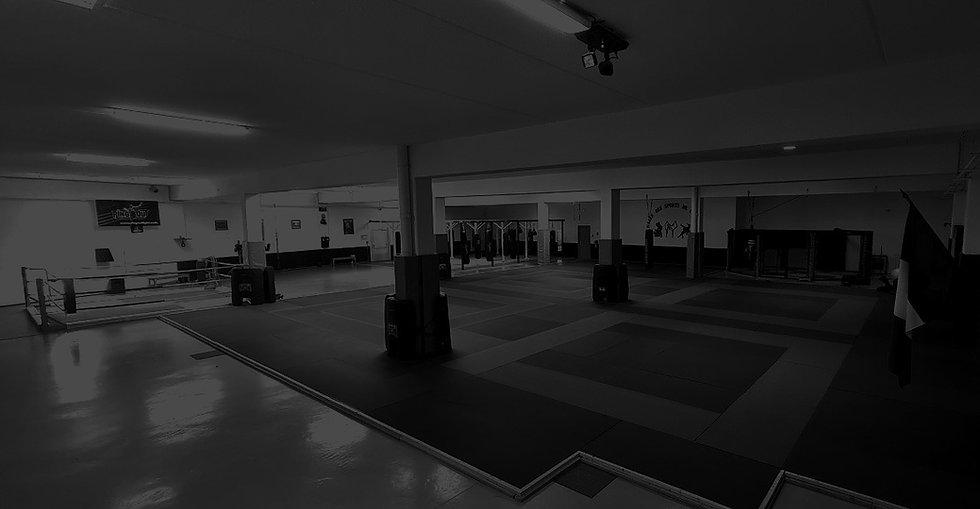 Salle de sports de combat à orange