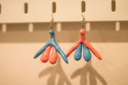 Clit Earrings by Melissa Carter