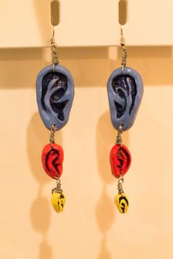 Ear Earrings by Melissa Carter