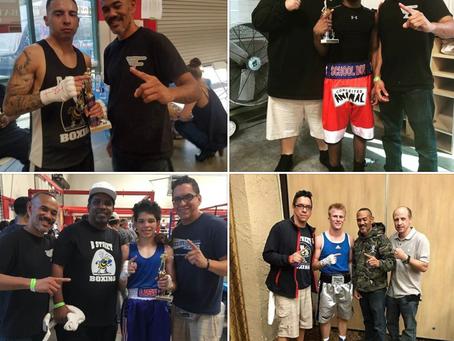 B Street Boxing Dominates NorCal Boxing