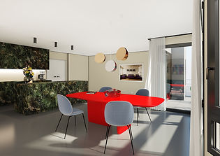 myliusstr frankfurt interior E15 rendering home staging new tendency