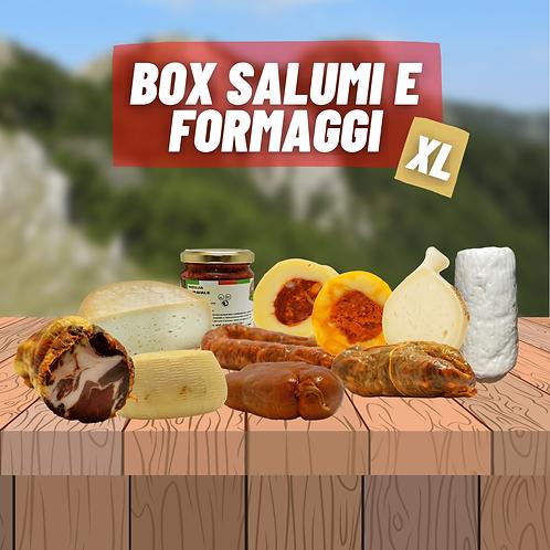 Box Salumi e Formaggi XL