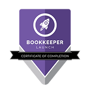 Certificate Of Completion bookkeeping