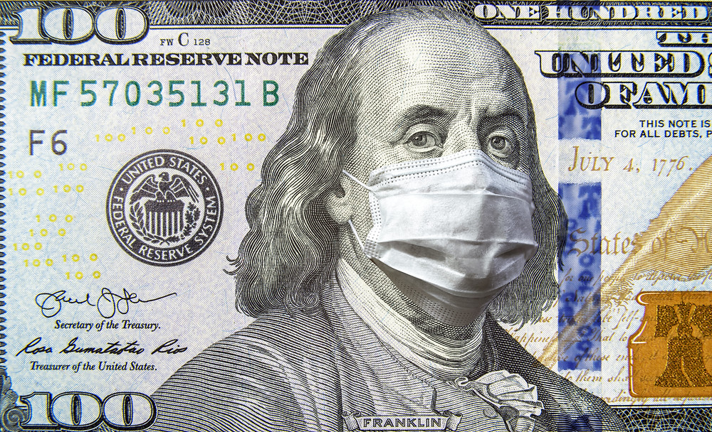 masked money for the current pandemic related to Covid-19