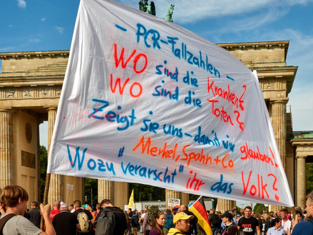 Querdenker, Querfront, and QAnon: On the German Far-Right and Its American Occupation