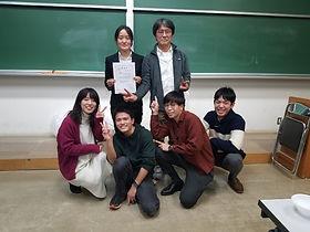 卒業研究発表会終了!江指万里さん最優秀賞受賞!