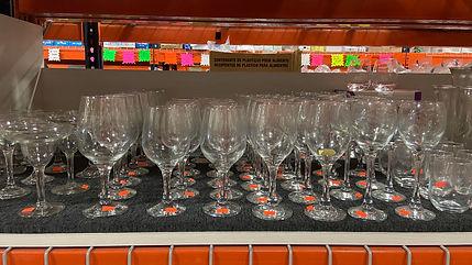 Margarita Glasses, Wine Glasses, stemles