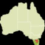 tasmania no mapa