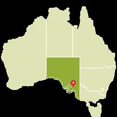 Adelaide no Mapa