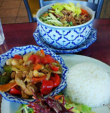 calgary thai vegan cafe