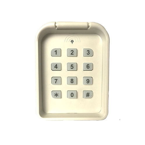 Gate Opening Systems (GOS) Wireless Touchpad Keypad - 5 Channels - 9V Battery