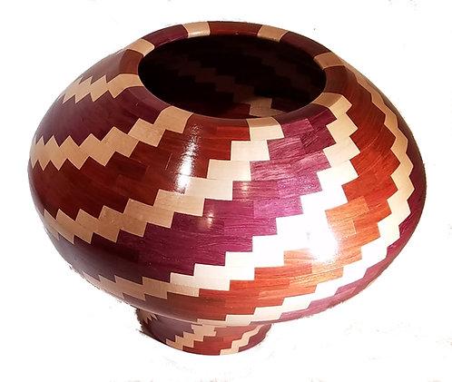 Segmented bowl/vase
