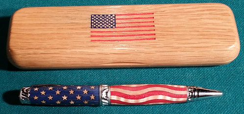 Stars and bars pen with box