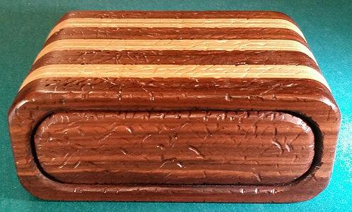 Distressed Walnut Bandsaw box