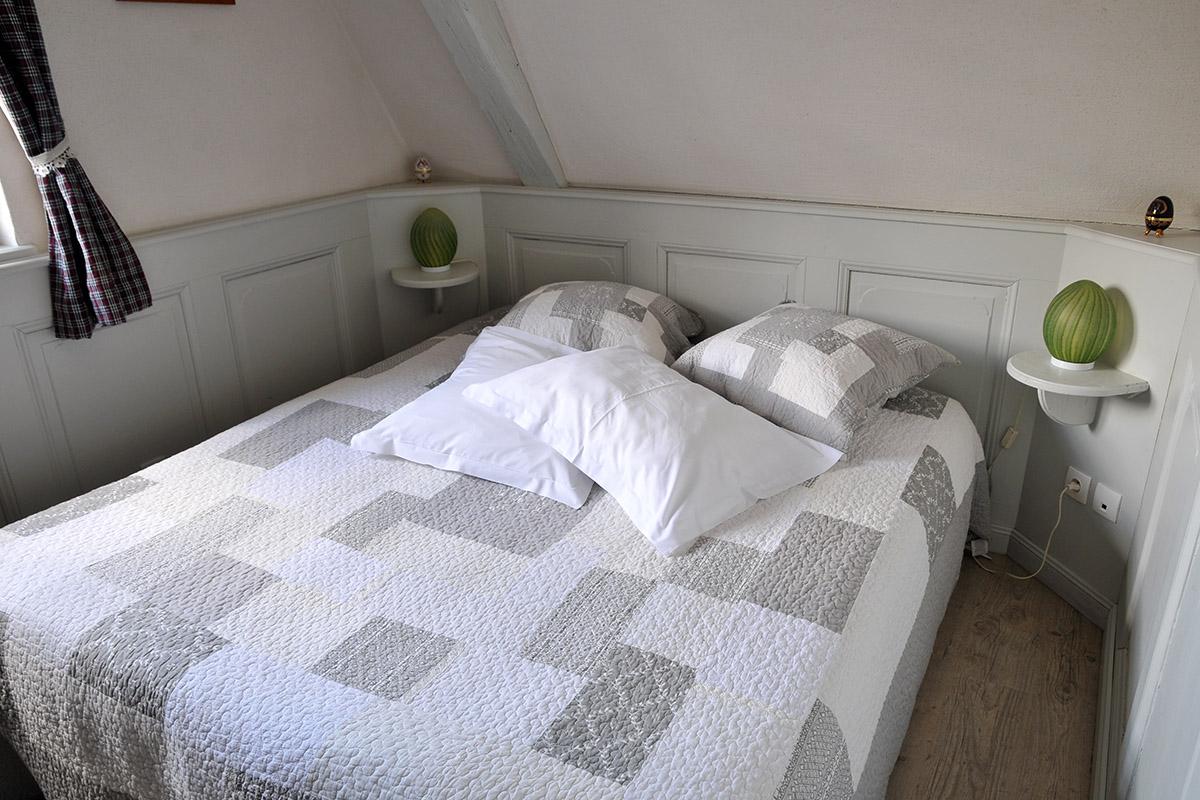 Chambre 1 Riquewihr - Grand lit