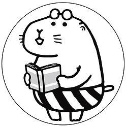 プレーリーくんモノクロ円.jpg