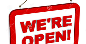 We are still open for business!