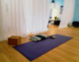 refreshing yoga studio