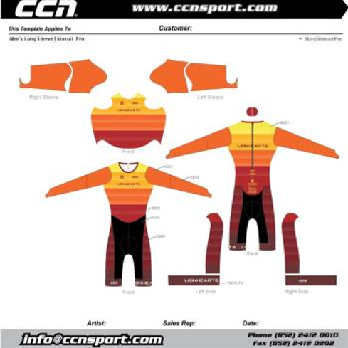 Long Sleeve Skin Suit
