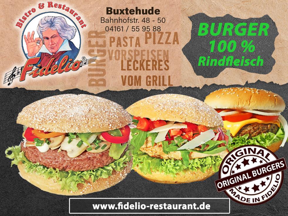 100 % Rindfleisch Burger_Frische_Fidelio_Restaurant_Buxtehude_Bergedorf_original_Angebot i