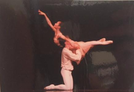 Michelle dancing in Romeo & Juliet