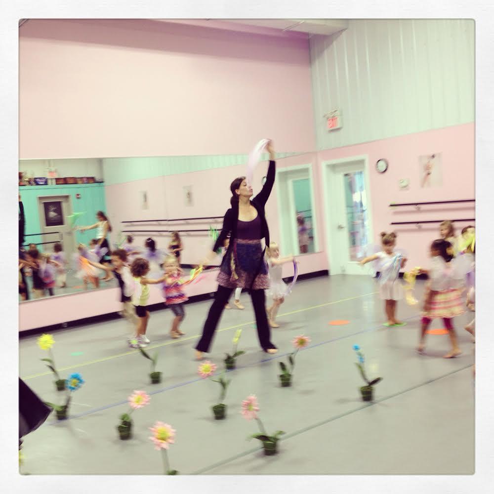 Miss Rachel Teaching