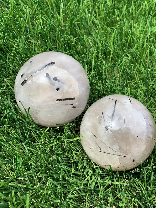 Tourmaline Quartz Sphere