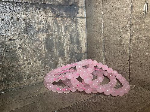 Rose Quartz 10mm Bracelet