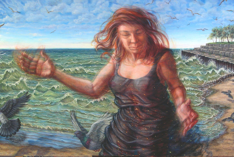 A self portrait of Riva Lehrer