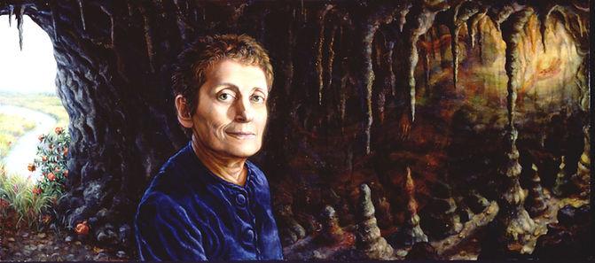 Painting of Hollis Sigler