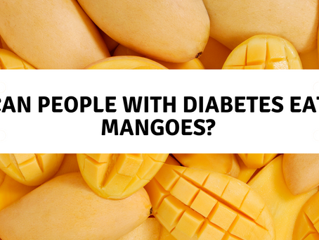 Can People With Diabetes Eat Mangoes?