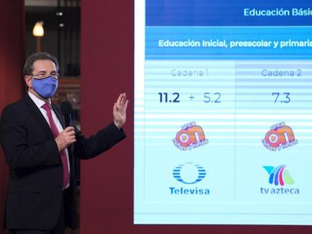 SEP PRESENTA BARRA PROGRAMÁTICA PARA REGRESO A CLASES