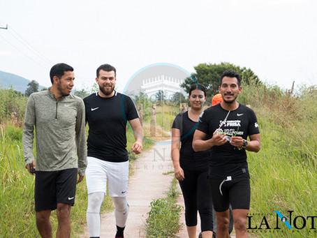DANIEL ALMANZA LLEGA A AMECA EN SU RUTA MÉXICO, DE NORTE A SUR