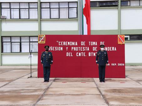 TOMA PROTESTA NUEVO COMANDANTE DE 32º BATALLÓN DE INFANTERÍA