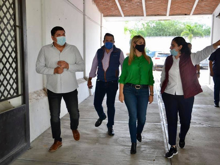 AUTORIDADES DE DIF JALISCO SUPERVISARON OBRAS EN AMECA